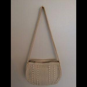 Vintage 70 Beaded Shoulder Bag Purse New